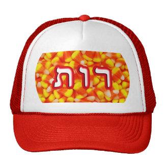 Candy Corn Ruth Trucker Hat