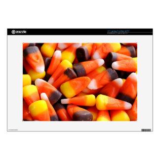 Candy Corn Skin Laptop Skins