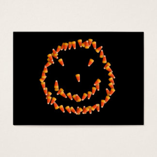 Candy Corn Smiley Business Card