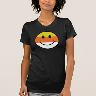 Candy Corn Smiley Tees