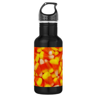 Candy Corn Stainless Steel Water Bottle
