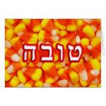 Candy Corn Tova, Tovah Greeting Card