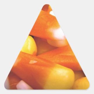 Candy Corn Triangle Sticker