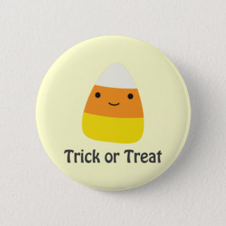 Candy corn - Trick or treat Pinback Button