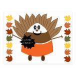 Candy Corn Turkey Post Card