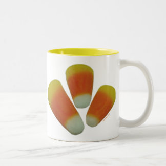Candy Corn Two-Tone Coffee Mug