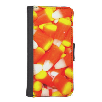Candy Corn Wallet Phone Case For iPhone SE/5/5s