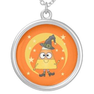 Candy Corn Witch Halloween Custom Jewelry