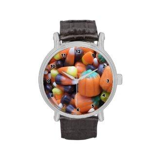 Candy Corn Wrist Watch