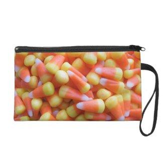 Candy Corn Wristlet