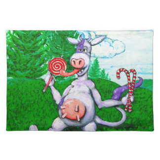 Candy Cow Placemat