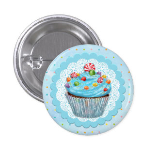 Candy Cupcake Button