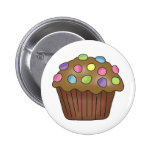 Candy Cupcakes Pinback Button