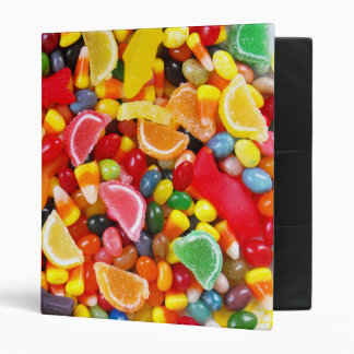 Candy Delight 3 Ring Binder