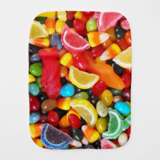 Candy Delight Baby Burp Cloth