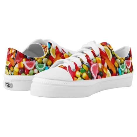 Candy Delight Low-Top Sneakers