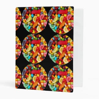 Candy Delight Mini Binder