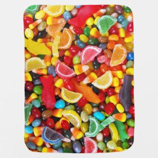 Candy Delight Receiving Blanket