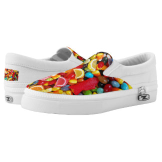 Candy Delight Slip-On Sneakers