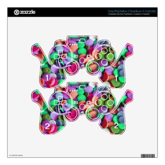 Candy Dots 3 PS3 Controller Skin
