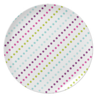 Candy Dots in Berry Light Plate