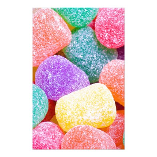 Candy Drops Customized Stationery