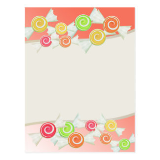 Candy Drops Postcards
