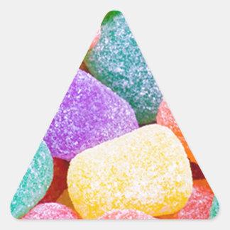 Candy Drops Triangle Sticker