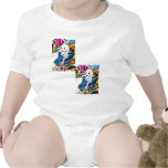 Candy Easter Bunny Baby Bodysuits