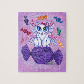Candy Fairy Cat Hard Candy Sweetie Puzzle