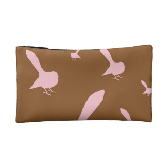 Candy Fantails on Chocolate Wristlet Purse Bag