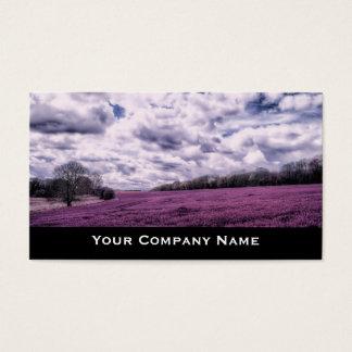 Candy Fields Landscape Business Cards