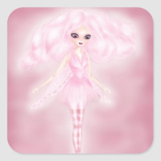 Candy floss faery stickers