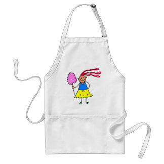 Candy Floss Kid Adult Apron