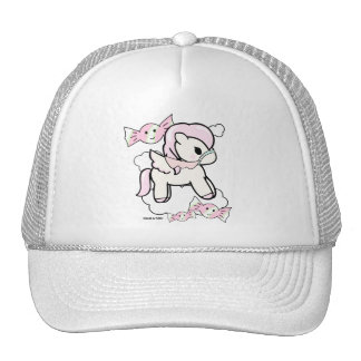Candy-floss Pony | White Trucker Hat Dolce & Pony