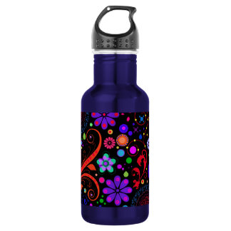 Candy Flowers Liberty Water Bottle