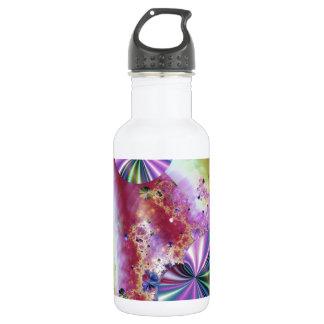 Candy fractal water bottle
