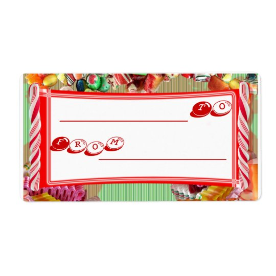 Candy Gift Tag