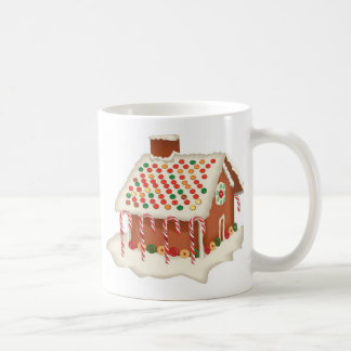 Candy Gingerbread Cottage Classic White Coffee Mug