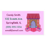 Candy Gingerbread House Business Cards Standard Business Cards
