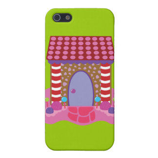 Candy Gingerbread House Case For iPhone 5