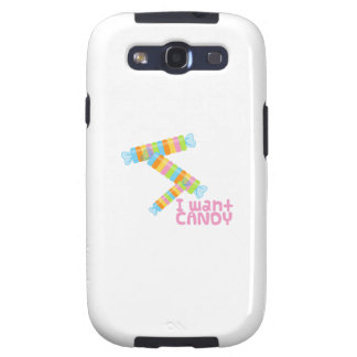 Candy Girl Samsung Galaxy S3 Covers