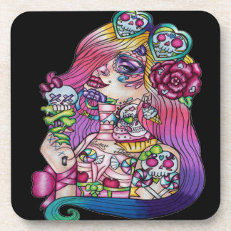 Candy Girl Coasters
