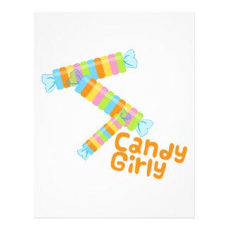 Candy Girl Custom Letterhead