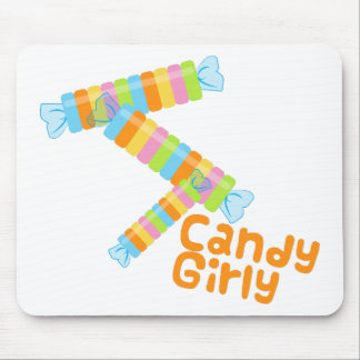 Candy Girl Mouse Pad
