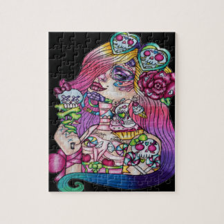 Candy Girl Puzzle