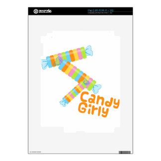 Candy Girl Skin For The iPad 2