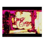 Candy Girls postcard