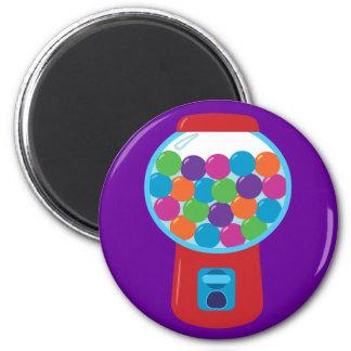 Candy Gumball Machine 2 Inch Round Magnet