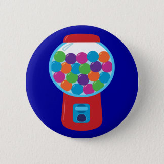 Candy Gumball Machine Button